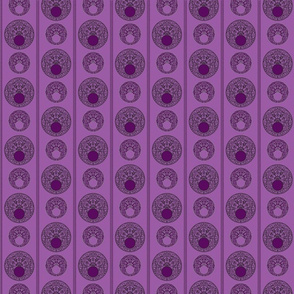 CirclesPurpleStripe
