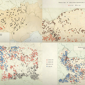 Bulgarian dialectology maps