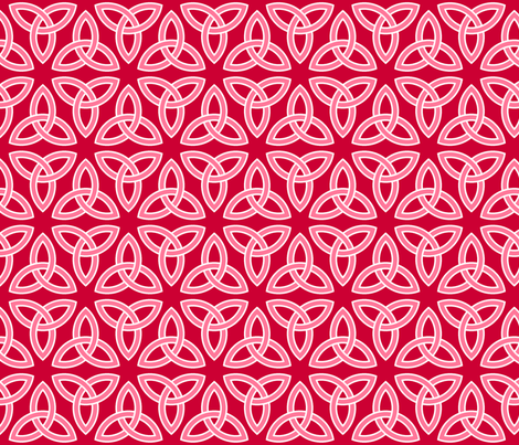 triquetra fabric by sef on Spoonflower - custom fabric