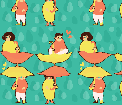 bag_pattern fabric by clichepansy on Spoonflower - custom fabric