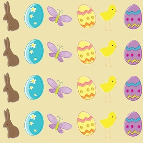 Easter cream background