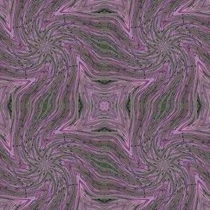 Lilac pinwheel twist