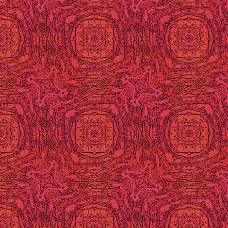 Crimson Wobble fabric by wren_leyland on Spoonflower - custom fabric