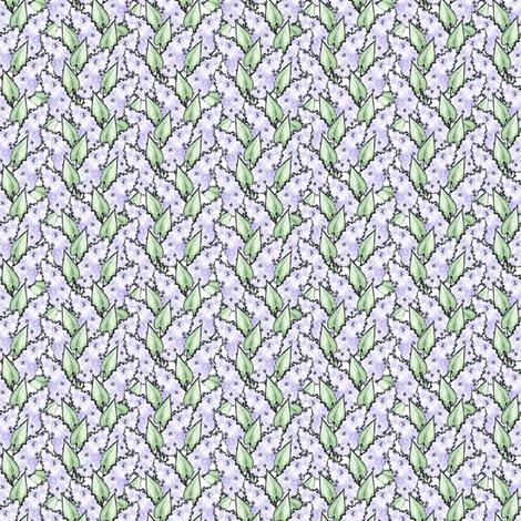 Lilacs fabric by siya on Spoonflower - custom fabric