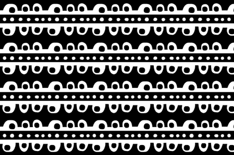 Bumpy Stripe (black & white) fabric by pattyryboltdesigns on Spoonflower - custom fabric