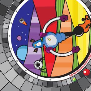 Rainbow Robots Explore Rainbow Planet