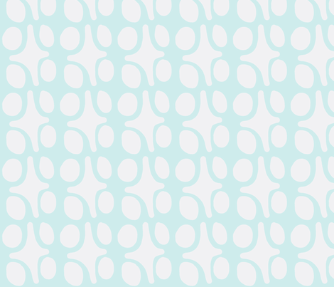 Wacky Moroccan (Lt. Aqua) fabric by pattyryboltdesigns on Spoonflower - custom fabric