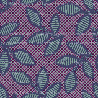lace - plum