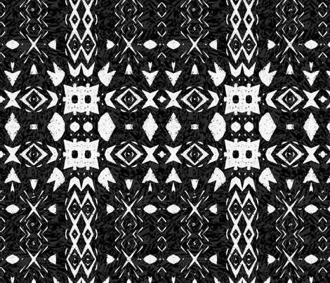 Inuit Contrasts fabric by wren_leyland on Spoonflower - custom fabric