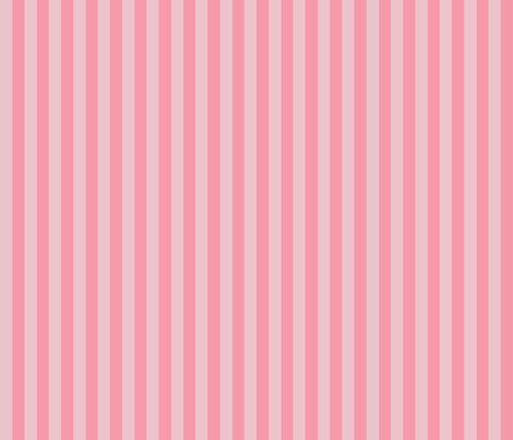 Chick Chick Pink Stripes fabric by lana_gordon_rast_ on Spoonflower - custom fabric