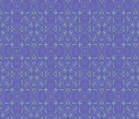Loopy Periwinkle fabric by wren_leyland on Spoonflower - custom fabric