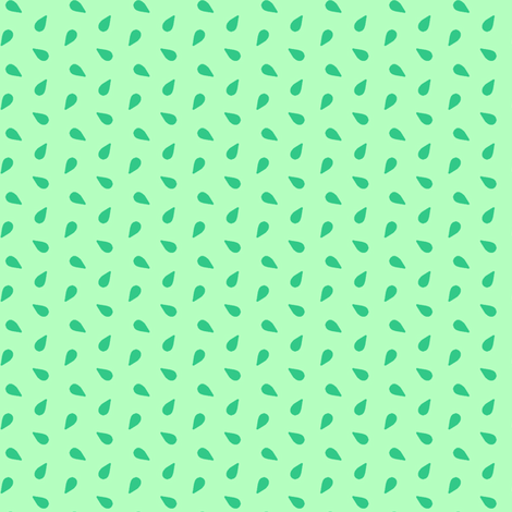 seeds - mint fabric by cheyanne_sammons on Spoonflower - custom fabric