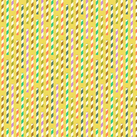 straws - kiwi fabric by cheyanne_sammons on Spoonflower - custom fabric