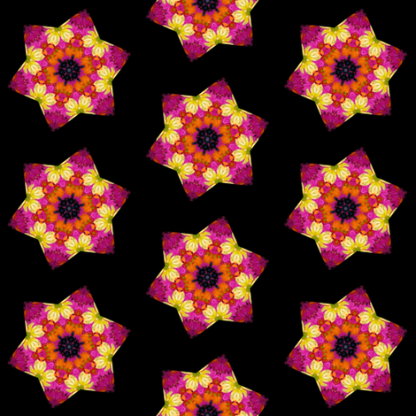 Peter's Painted Petals - Flower Power 14 fabric by dovetail_designs on Spoonflower - custom fabric