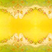 Border Print Yellow