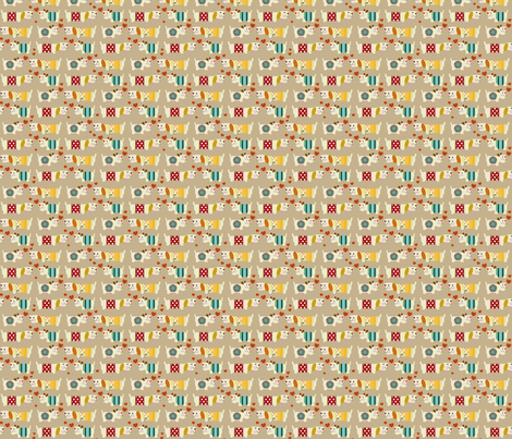 teeny woo woo woofers fabric by scrummy on Spoonflower - custom fabric