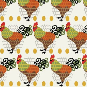 Rooster Parade / Cream