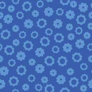 Robot Gears (Blue)