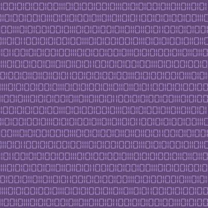 Robot Binary (Purple)