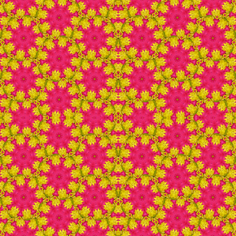 Peter's Painted Petals - Flower Power 17 fabric by dovetail_designs on Spoonflower - custom fabric