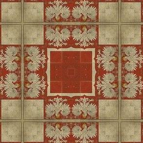 Polish flag Kaleidoscope