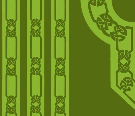 collar and trim olive dark olive fabric by ingridthecrafty on Spoonflower - custom fabric