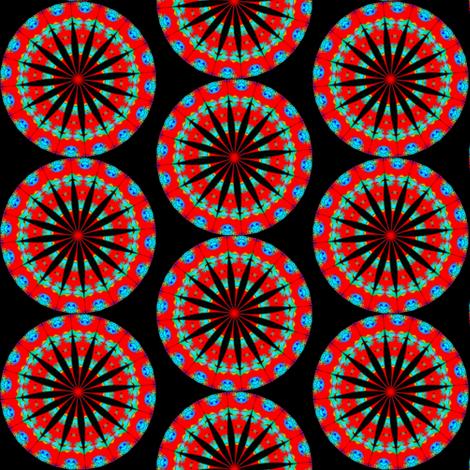 Flower Power - Bleeding Hearts 3 fabric by dovetail_designs on Spoonflower - custom fabric