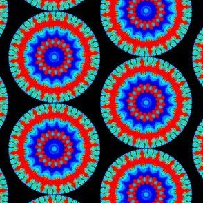 Flower Power - Bleeding Hearts  Mandala 10