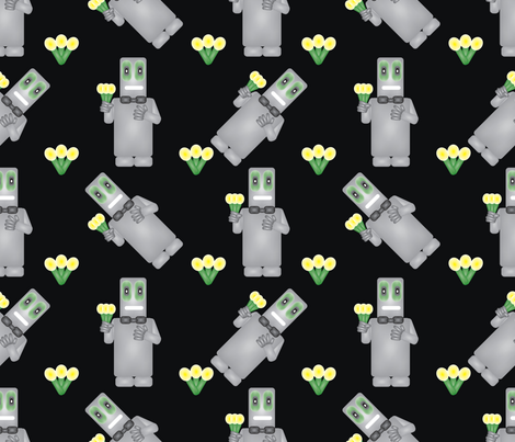 Robotom fabric by brandymiller on Spoonflower - custom fabric