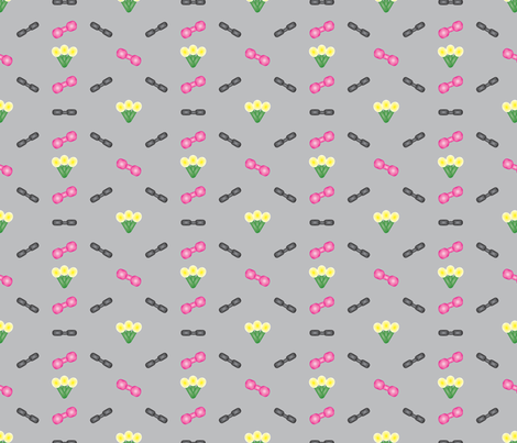 Robot Mix fabric by brandymiller on Spoonflower - custom fabric