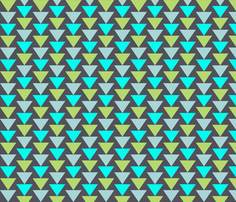 robot_triangles fabric by katarina on Spoonflower - custom fabric