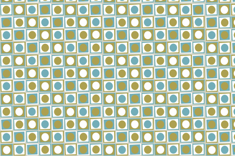 Matilda_Green_Coordinate_ii fabric by designedtoat on Spoonflower - custom fabric