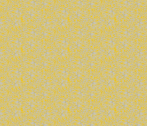 Firepuff Feather Duster fabric by glimmericks on Spoonflower - custom fabric