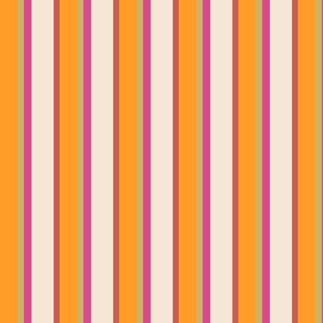 Triangle-Tangerine Striipe fabric by patsijean on Spoonflower - custom fabric
