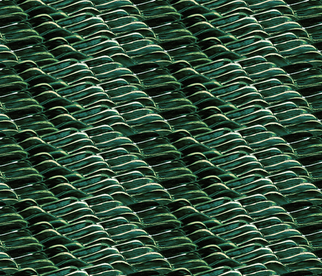 green velvet sea fabric by wednesdaysgirl on Spoonflower - custom fabric