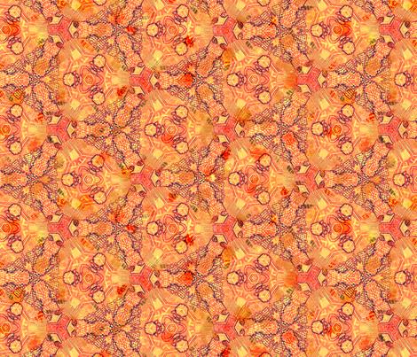 Triad Retro Red fabric by wren_leyland on Spoonflower - custom fabric