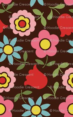 mod_flower - Brown