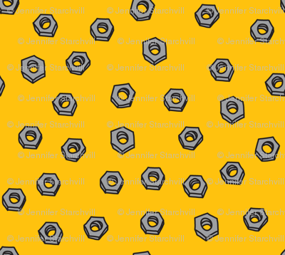 Robot Nuts (in yellow)