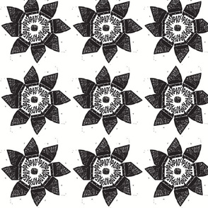 black parking flower