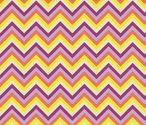 Multicolor_chevron fabric by natasha_k_ on Spoonflower - custom fabric