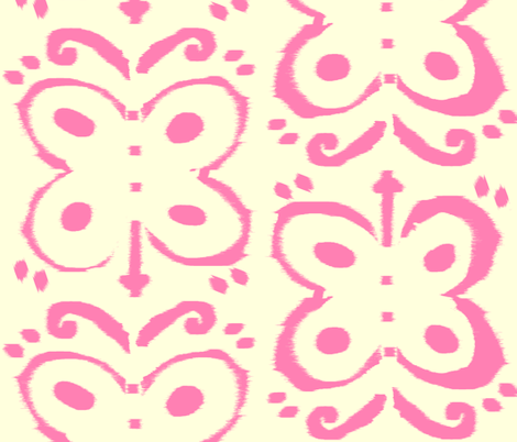 Butterfly Girl fabric by fable_design on Spoonflower - custom fabric