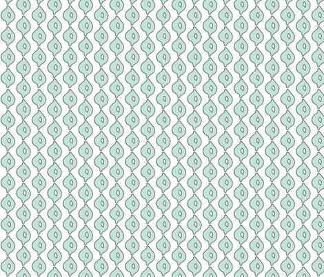 doodle dot (aqua) fabric by pattyryboltdesigns on Spoonflower - custom fabric