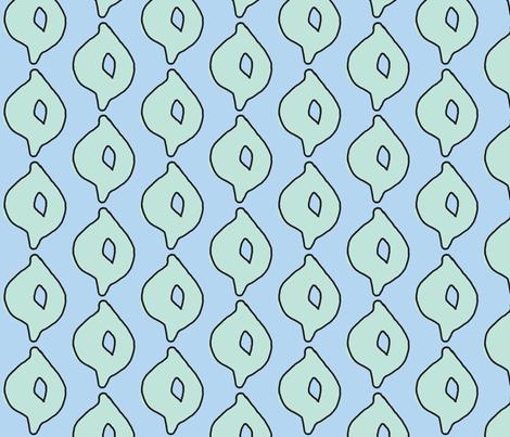 doodle dot (aqua/sky) fabric by pattyryboltdesigns on Spoonflower - custom fabric