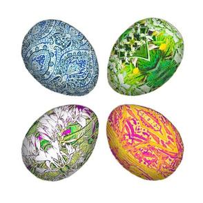 Large Pysanky Eggs