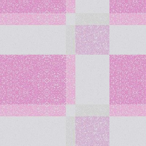 Pink Textured Plaid © Gingezel™ 2012