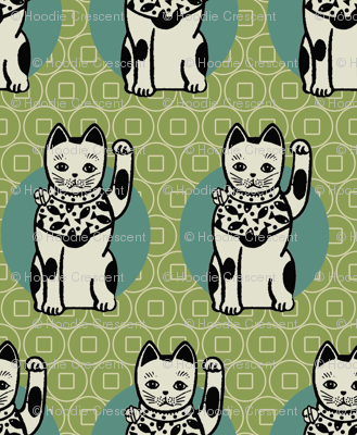 Lucky_cats_-green