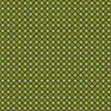 Dice_check_green fabric by hoodiecrescent&stars on Spoonflower - custom fabric