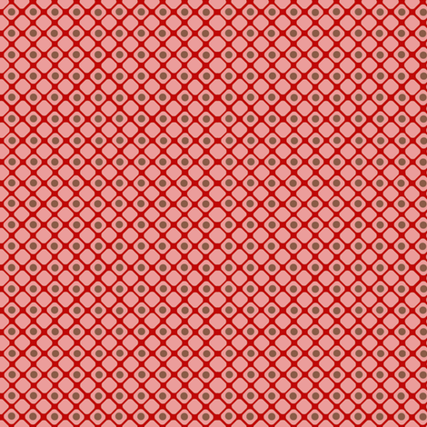 Dice_check_pink fabric by hoodiecrescent&stars on Spoonflower - custom fabric