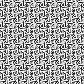 Pinwheels -Black & White