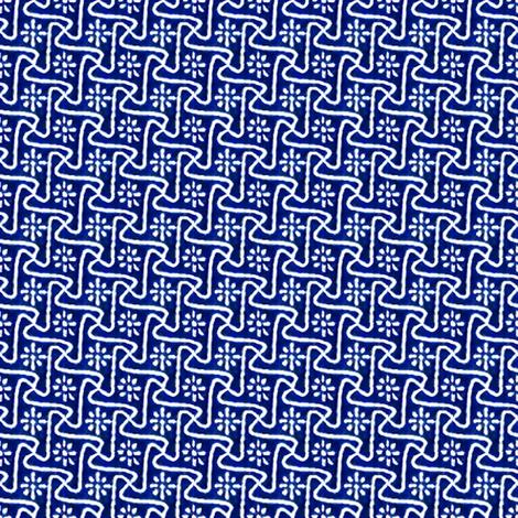Pinwheels - Cobalt fabric by engravogirl on Spoonflower - custom fabric